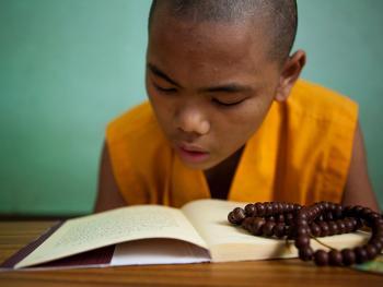 僧侣的学习08