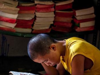僧侣的学习09