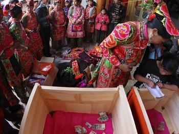 巍山彝族婚礼08