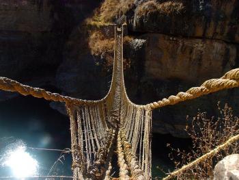 印加人的稻草桥2