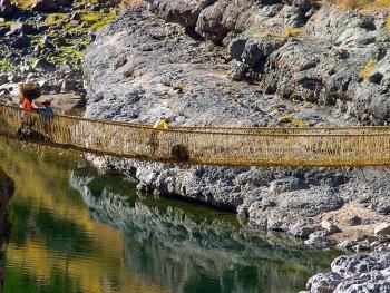 印加人的稻草桥3
