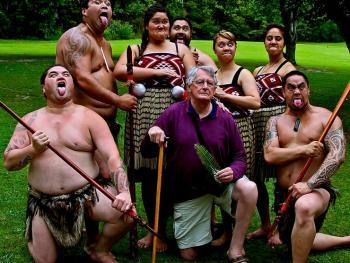 新西兰毛利人的迎宾礼节10