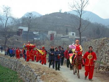 中原传统婚礼