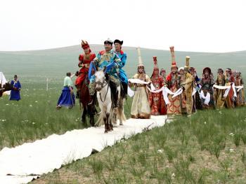 蒙古族婚礼习俗06