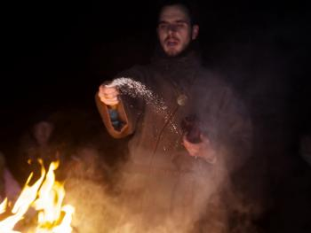 春分时的火祭13