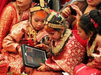 尼泊尔水果婚04