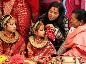 尼泊尔水果婚09