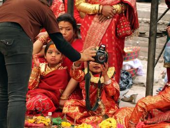 尼泊尔水果婚12