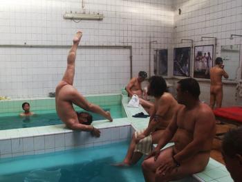 最后的澡堂生活
