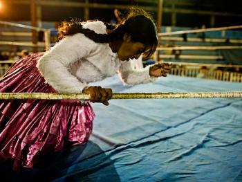 玻利维亚女子摔跤11