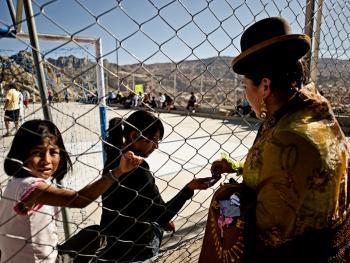 玻利维亚女子摔跤14
