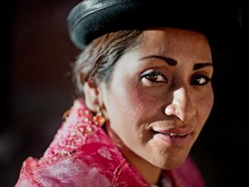 玻利维亚女子摔跤09