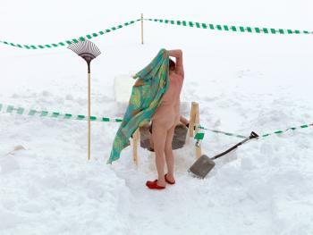芬兰的冰泳13
