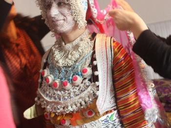 新娘的妆容09