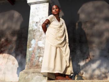 印度教圣地的朝拜仪式