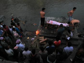 印度教徒的火葬07
