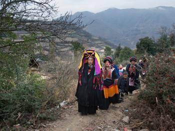 彝族婚俗14