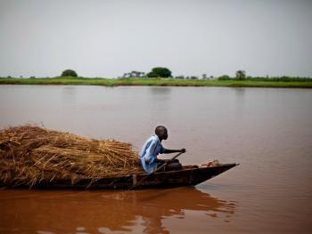 南苏丹平静的乡村生活