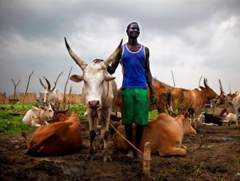 南苏丹平静的乡村生活02
