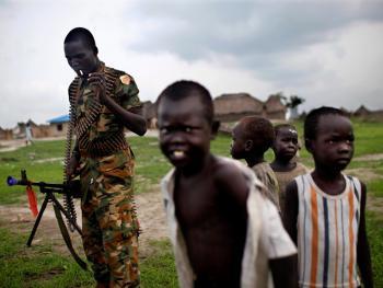南苏丹平静的乡村生活03