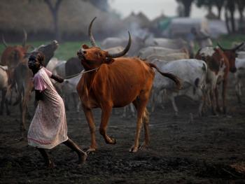 南苏丹平静的乡村生活04