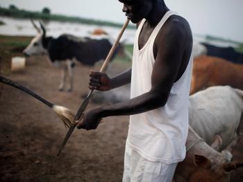 南苏丹平静的乡村生活05
