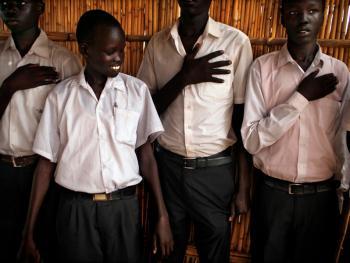 南苏丹平静的乡村生活07
