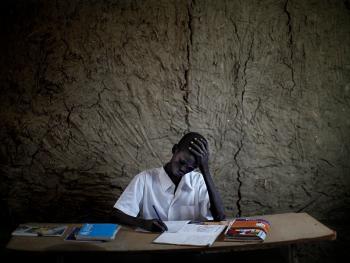 南苏丹平静的乡村生活09