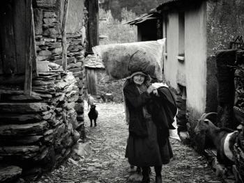 葡萄牙山村的老人04