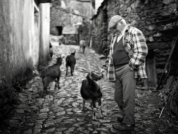葡萄牙山村的老人06