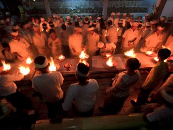 巴厘岛的火葬仪式13