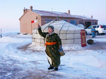 蒙古族祭火