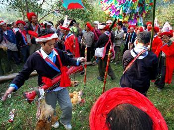 瑶族红祭11