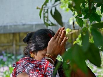 孟加拉妇女的榕树崇拜14