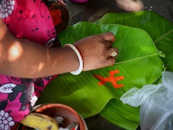 孟加拉妇女的榕树崇拜06