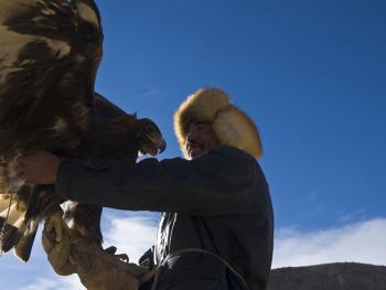 柯尔克孜族驯鹰人