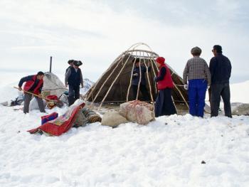 哈萨克族牧民的转场03