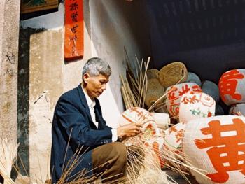 潮汕传统手工竹制灯笼