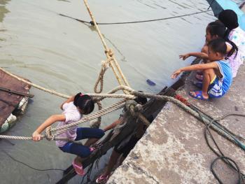 行走在水上的三亚疍家人12