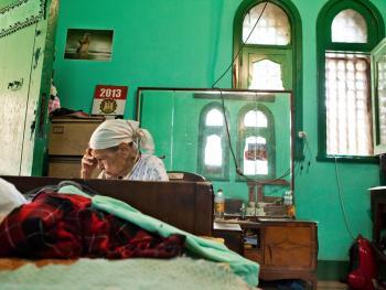 住在墓地里的开罗人06
