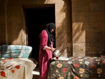 住在墓地里的开罗人07