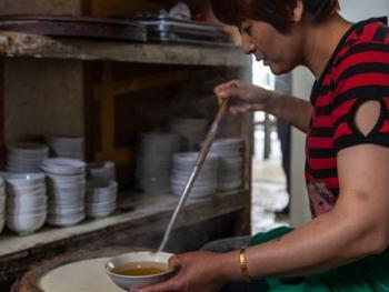 满族石磨水豆腐10