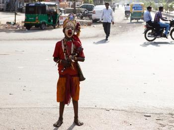 印度的化装乞丐10