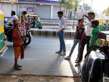 印度的化装乞丐11