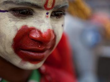 印度的化装乞丐12
