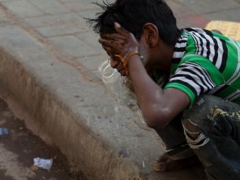 印度的化装乞丐13