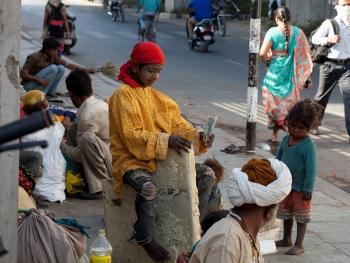 印度的化装乞丐14