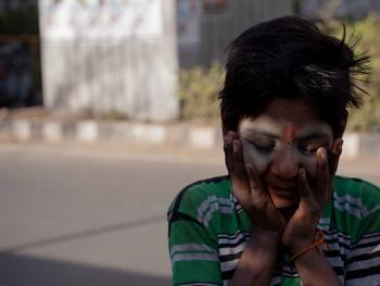 印度的化装乞丐01