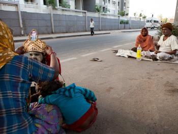 印度的化装乞丐02