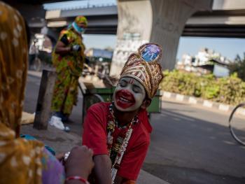 印度的化装乞丐03